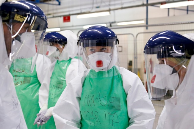 nhs_medics_prepare_to_join_the_fight_against_ebola_in_sierra_leone