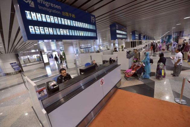 Facial recognition to replace passports in airports. Photo: NEC
